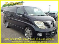 2005 NISSAN ELGRAND  Highway Star 3.5, Automatic,8 Seats,Only 50k,Stunning Alloys, 2 Power Doors £8000.00