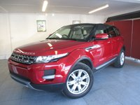 2013 LAND ROVER RANGE ROVER EVOQUE 2.2 SD4 PURE TECH 5d AUTO 190 BHP £21995.00