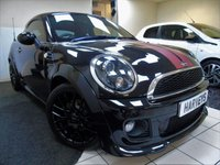 2014 MINI COUPE 1.6 COOPER 2d 120 BHP £8495.00