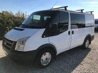 2008 FORD TRANSIT T260 85PS FACTORY 6 SEAT SWB CREW VAN **NO VAT** £2295.00