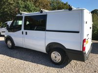 USED 2008 58 FORD TRANSIT T260 85PS FACTORY 6 SEAT SWB CREW VAN **NO VAT**