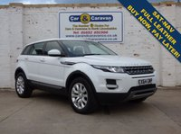 USED 2014 64 LAND ROVER RANGE ROVER EVOQUE 2.2 ED4 PURE TECH 5d 150 BHP Service History NAV Leather Buy Now, Pay in 2 Months!