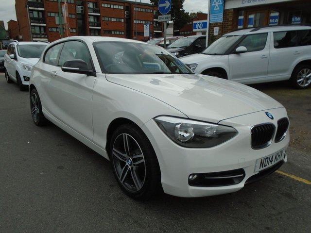 2014 14 BMW 1 SERIES 2.0 116D SPORT 3d 114 BHP