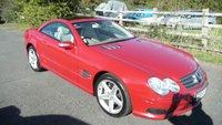 USED 2005 55 MERCEDES-BENZ SL 5.0 SL500 2d AUTO 302 BHP