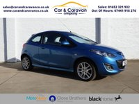 USED 2012 62 MAZDA 2 1.5 SPORT 3d 101 BHP Full Mazda History Air Con AUX Buy Now, Pay in 2 Months!