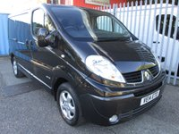USED 2014 14 RENAULT TRAFIC SL27 DCi SPORT 115 SWB Low roof *SAT NAV + AIR CON* EXCELLENT SPECIFICATION INC. AIR CON + SAT NAV