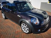 USED 2013 62 MINI CONVERTIBLE 1.6 COOPER D HIGHGATE 2d 110 BHP