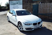 USED 2013 63 BMW 3 SERIES 2.0 318D SPORT 4d 141 BHP FULL BMW Service History Only £30 Road Tax