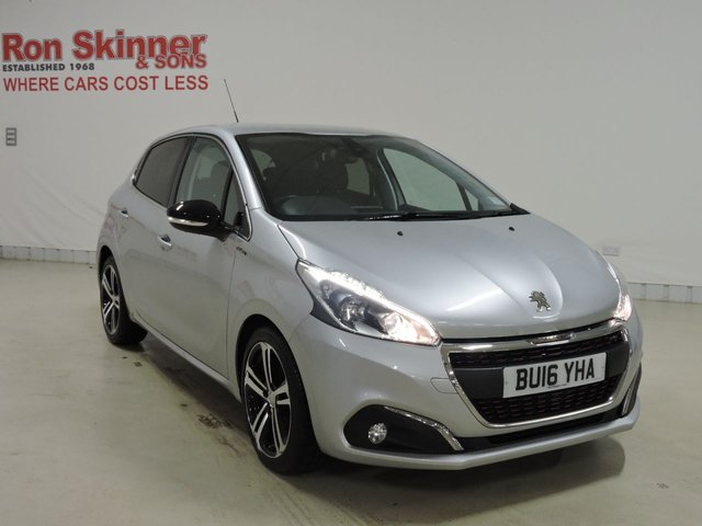 View our 2016 16 PEUGEOT 208 (58)   1.6 BLUE HDI GT LINE 5d 100 BHP