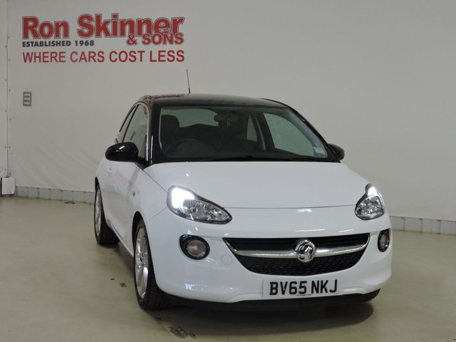 View our 2015 65 VAUXHALL ADAM 1.2 SLAM 3d 69 BHP