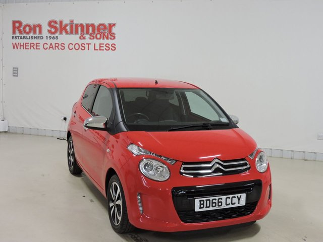 View our 2016 66 CITROEN C1 1.2 PURETECH FLAIR 5d 82 BHP