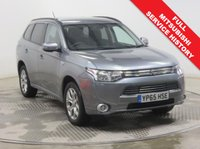 USED 2015 65 MITSUBISHI OUTLANDER 2.0 PHEV GX 3H 5d AUTO 162 BHP 4 X 4 Full Mitsubishi History serviced on the November 2016 at 2,694 miles, October 2017 at 5,163 miles, September 2018 at 6,448 miles, this car comes in stunning Metallic Atlantic Grey and is an excellent example of a Mitsubishi Phev 4x4 AWD also comes with Half Leather, Privacy Glass, Leather Multi Functional steering Wheel, Bluetooth, Air Conditioning, Cruise Control, Parking Sensors, Alloy Wheel Keyless Entry, the balance of Mitsubishi Warranty until November 2020 & an MOT to Nov 2019