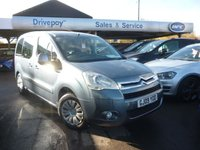 2009 CITROEN BERLINGO 1.6 MULTISPACE VTR 16V 5d 109 BHP £3999.00
