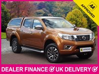 USED 2016 16 NISSAN NAVARA 2.3 DCI N-CONNECTA AUTOMATIC NP300 HARDTOP CANOPY SAT NAV REVERSE CAMERA CANOPY AIR CON CRUISE