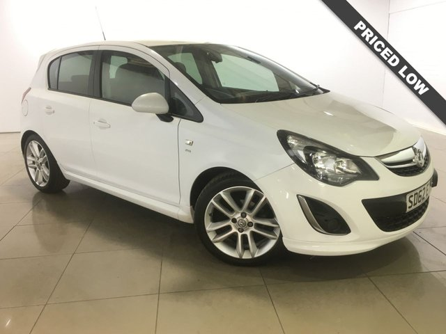 View our 2012 62 VAUXHALL CORSA 1.4 SRI 5d 98 BHP
