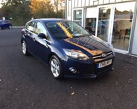 USED 2012 61 FORD FOCUS 1.6 TDCI ZETEC 115 BHP THIS VEHICLE IS AT SITE 1 - TO VIEW CALL US ON 01903 892224