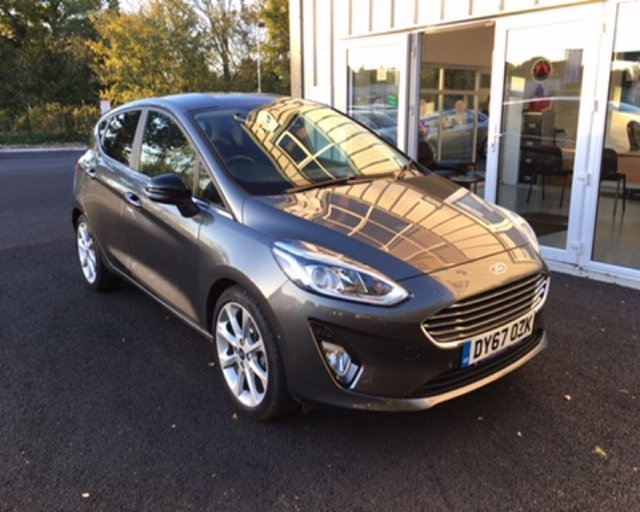 2017 67 FORD FIESTA 1.0 TITANIUM ECOBOOST AUTOMATIC (100ps) NEW MODEL