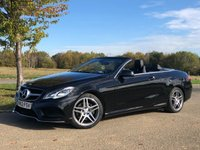 USED 2014 63 MERCEDES-BENZ E CLASS 2.1 E250 CDI AMG SPORT AUTO/PADDLESHIFT 204 BHP 2 DR CONVERTIBLE +MEMORY PACK+F/S/H+2 OWNERS
