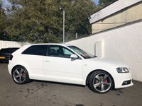 2011 AUDI A3 2.0 TDI S LINE SPECIAL EDITION 3d 138 BHP £8795.00