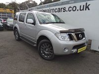 USED 2011 11 NISSAN PATHFINDER 2.5 TEKNA DCI 5d 188 BHP 18000 Miles Full Dealer Service History+7 Seater And Navigation+++