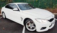 2015 BMW 4 SERIES 2.0 420D M SPORT 2d AUTO 188 BHP £18500.00