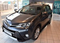 USED 2013 13 TOYOTA RAV4 2.2 D-4D INVINCIBLE 5d 150 BHP 4x4 SAT-NAV ONE LADY OWNER LOW MILES