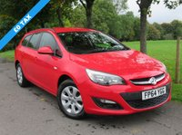 USED 2014 64 VAUXHALL ASTRA 1.6 DESIGN CDTI ECOFLEX S/S 5d 108 BHP Great Estate One Owner FSH Free Tax Bluetooth