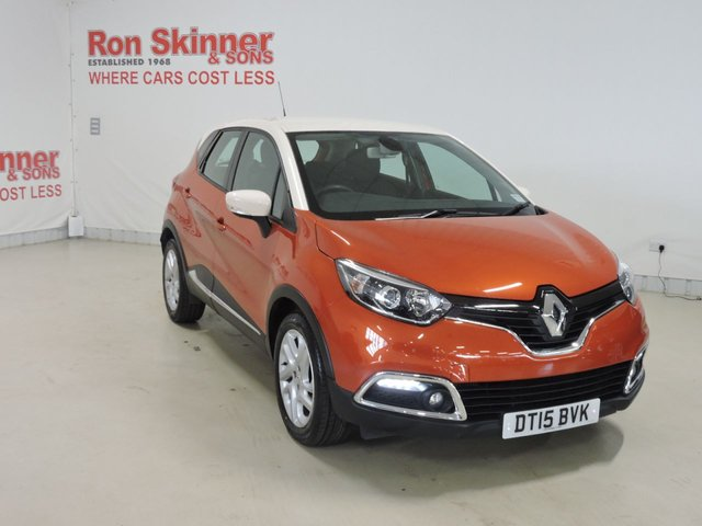 View our 2015 15 RENAULT CAPTUR 1.5 DYNAMIQUE MEDIANAV DCI 5d AUTO 90 BHP