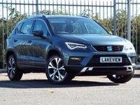 2018 SEAT ATECA 1.6 TDI ECOMOTIVE SE TECHNOLOGY 5d 114 BHP £18469.00