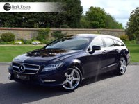 USED 2013 13 MERCEDES-BENZ CLS CLASS 3.0 CLS350 CDI BLUEEFFICIENCY AMG SPORT 5d 262 BHP