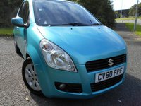 2010 SUZUKI SPLASH 1.2 GLS PLUS 5d AUTO 86 BHP ** AUTOMATIC , YES ONLY 33 K , 1 PREVIOUS OWNER ** £4795.00
