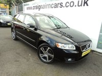 USED 2012 12 VOLVO V50 1.6 DRIVE SE EDITION S/S 5d 113 BHP Volvo Then One Lady Owner Full Volvo Service History+Electric Sunroof
