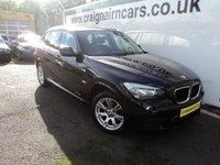 2012 BMW X1 2.0 XDRIVE18D M SPORT 5d 141 BHP £11995.00