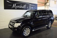 USED 2011 11 MITSUBISHI SHOGUN 3.2 ELEGANCE DI-D LWB 5d AUTO 197 BHP STUNNING CONDITION - ONE OWNER - FULL MITSUBISHI SERVICE HISTORY TO 100K MILES - NAV - LEATHER - SIDE STEPS - PRIVACY GLASS