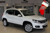 USED 2014 14 VOLKSWAGEN TIGUAN 2.0 MATCH TDI BLUEMOTION TECH 4MOTION DSG 5d AUTO 139 BHP - full service history  FULL SERVICE HISTORY + SATELLITE NAVIGATION + FOUR WHEEL DRIVE + 18 INCH ALLOYS + BLUETOOTH + AIR CONDITIONG + CRUISE CONTROL + PARKING SENSORS