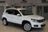 USED 2014 14 VOLKSWAGEN TIGUAN 2.0 MATCH TDI BLUEMOTION TECH 4MOTION DSG 5d AUTO 139 BHP FULL SERVICE HISTORY + FOUR WHEEL DRIVE + 18 INCH ALLOYS + BLUETOOTH + AIR CONDITIONG + CRUISE CONTROL + PARKING SENSORS
