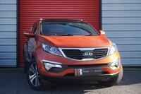 2012 KIA SPORTAGE 1.7 CRDI 3 5d 114 BHP £10495.00