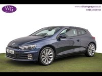 USED 2015 15 VOLKSWAGEN SCIROCCO 2.0 GT TDI BLUEMOTION TECHNOLOGY 2d 182 BHP