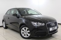 USED 2012 12 AUDI A1 1.6 TDI SE 3DR 103 BHP Full Service History FULL AUDI SERVICE HISTORY + AIR CONDITIONING + RADIO/CD/AUX + ELECTRIC WINDOWS + 15 INCH ALLOY WHEELS