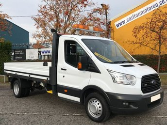 2015 FORD TRANSIT 2.2 350 LWB DROPSIDE / PICKUP 12ft ALLOY BODY DRW TDCi 125  £SOLD