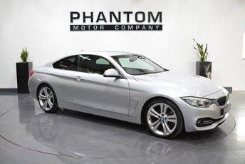 2014 BMW 4 SERIES 3.0 430D LUXURY 2d AUTO 255 BHP £15850.00