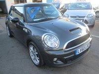 2010 MINI HATCH COOPER 1.6 S 3d AUTOMATIC  184 BHP £6995.00