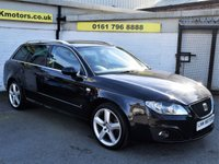 USED 2010 10 SEAT EXEO 2.0 SPORT CR TDI 5d 168 BHP * FREE DELIVERY AND WARRANTY *
