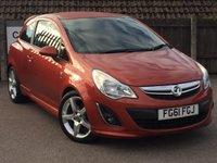 2011 VAUXHALL CORSA 1.4 SRI 3d 98 BHP £4795.00