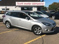 USED 2014 64 FORD FOCUS 1.6 TDCi Zetec Navigator 5 door Diesel