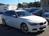 2013 BMW 3 SERIES 2.0 320D M SPORT TOURING 5d AUTO 181 BHP £12995.00