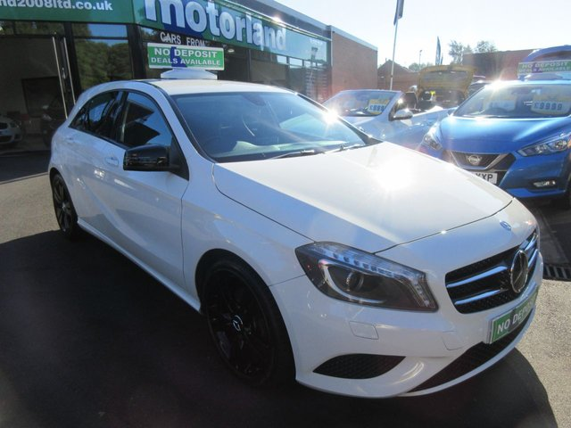 USED 2013 63 MERCEDES-BENZ A CLASS 1.6 A200 BLUEEFFICIENCY SPORT 5d 156 BHP ** 01543 379066 ** JUST ARRIVED ** FULL SERVICE HISTORY **