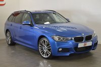 USED 2015 64 BMW 3 SERIES 3.0 330D XDRIVE M SPORT TOURING 5d AUTO 255 BHP 1 OWNER + SAT NAV + ONLY 42K + 19 INCH ALLOYS
