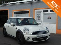 USED 2013 63 MINI HATCH COOPER 1.6 COOPER D 3d 112 BHP 5 Service Stamps ,Bluetooth , Aux ,USB