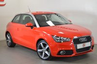 USED 2011 11 AUDI A1 1.6 TDI SPORT 3d 103 BHP LOW MILES + FULL HISTORY + STUNNING IN RED + CHEAP ROAD TAX